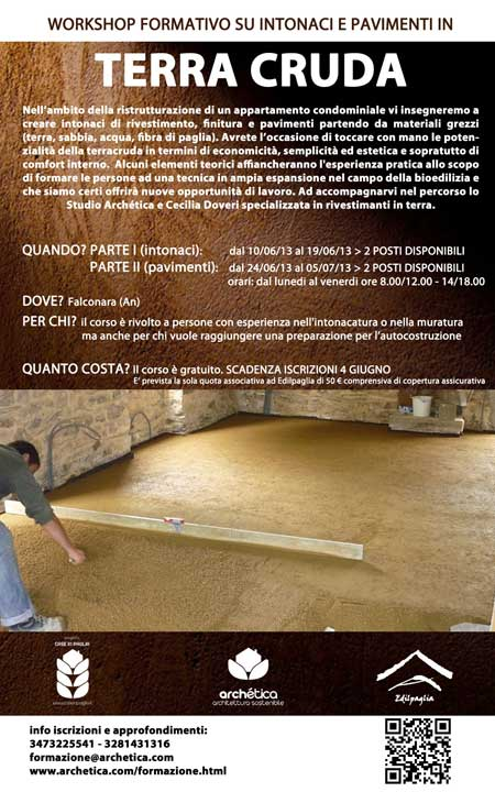 workshop terracruda SITO